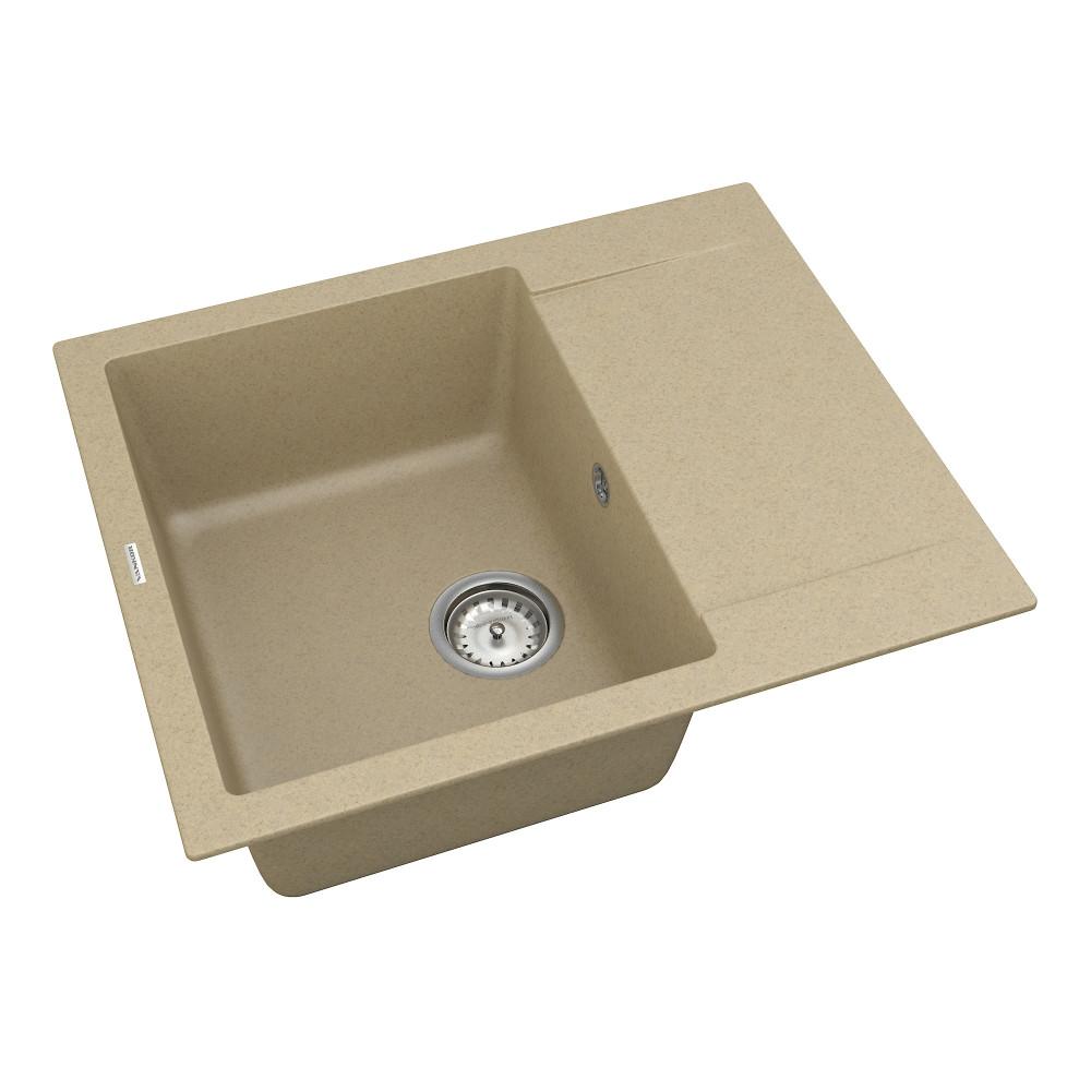 Кухонна мийка VANKOR Orman OMP 02.61 Safari + сифон VANKOR