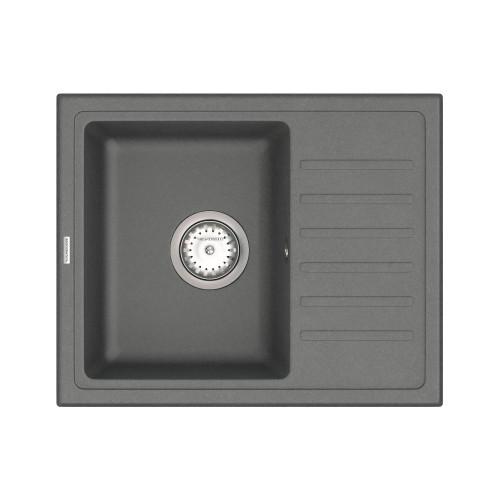 Кухонна мийка VANKOR Lira LMP 02.55 Gray + сифон VANKOR
