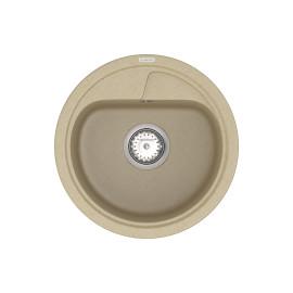 Кухонна мийка VANKOR Polo PMR 01.44 Safari + сифон VANKOR
