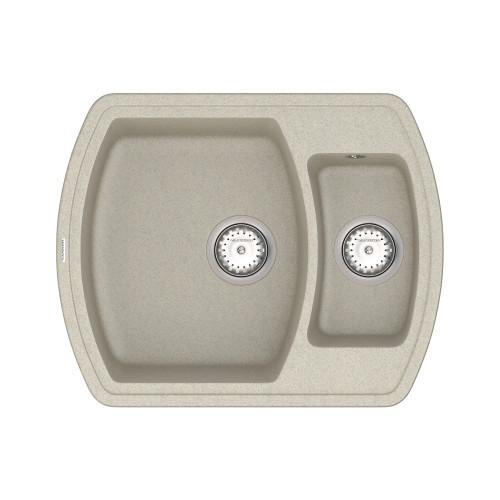 Кухонна мийка VANKOR Norton NMP 03.63 Terra + сифон VANKOR