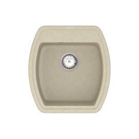 Кухонна мийка VANKOR Norton NMP 01.48 Beige + сифон VANKOR