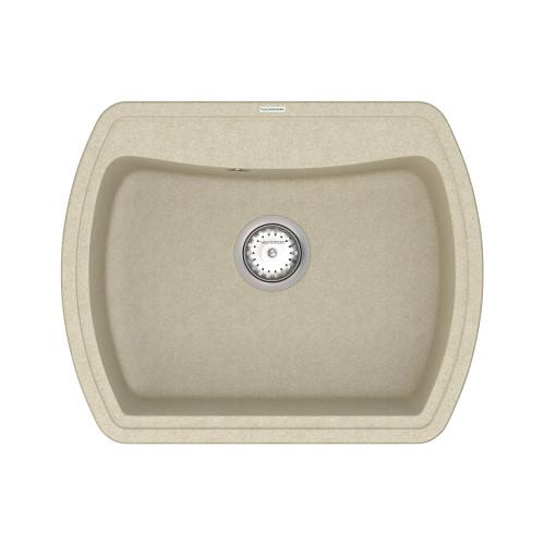 Кухонна мийка VANKOR Norton NMP 01.63 Beige + сифон VANKOR