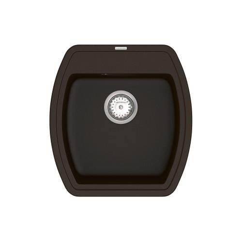 Кухонна мийка VANKOR Norton NMP 01.48 Chocolate + сифон VANKOR