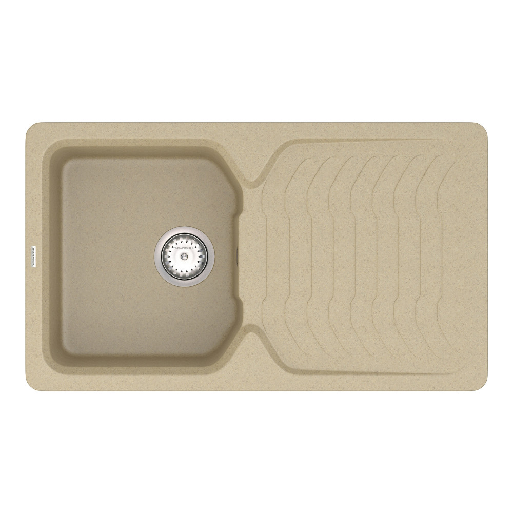 Кухонна мийка VANKOR Sigma SMP 02.85 Safari + сифон VANKOR