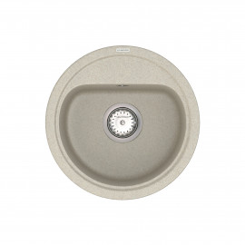 Кухонна мийка VANKOR Lira LMR 01.44 Terra + сифон VANKOR