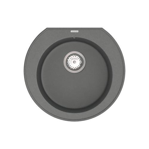 Кухонна мийка VANKOR Kres KMR 01.52 gray + сифон VANKOR
