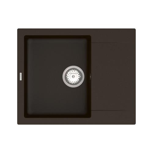 Кухонна мийка VANKOR Orman OMP 02.61 Chocolate + сифон VANKOR