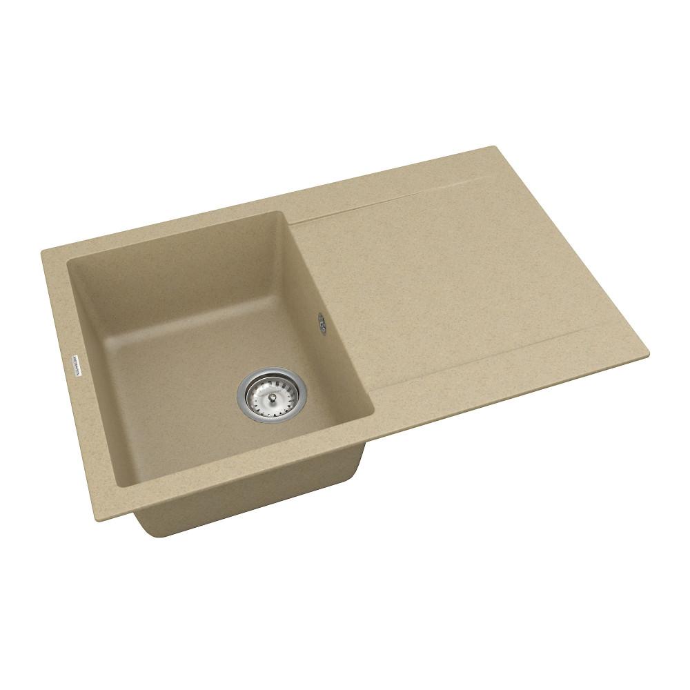 Кухонна мийка VANKOR Orman OMP 02.78 Safari + сифон VANKOR