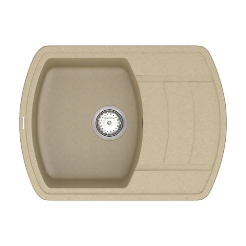 Кухонна мийка VANKOR Norton NMP 02.67 Safari + сифон VANKOR