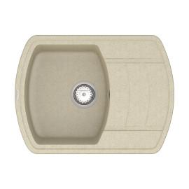 Кухонна мийка VANKOR Norton NMP 02.67 Beige + сифон VANKOR