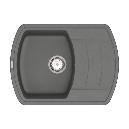 Кухонна мийка VANKOR Norton NMP 02.67 Gray + сифон VANKOR