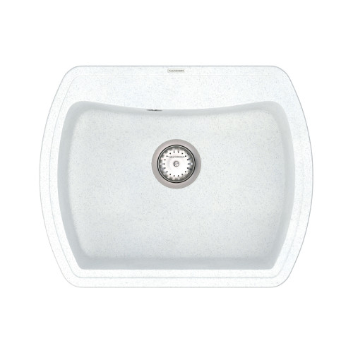Кухонна мийка VANKOR Norton NMP 01.63 White stone + сифон VANKOR
